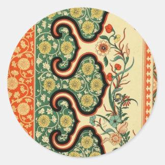 中国のなOrnamentalsの1867年のヴィンテージの芸術 ラウンドシール