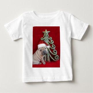 中国のなshar peiの子犬 ベビーTシャツ