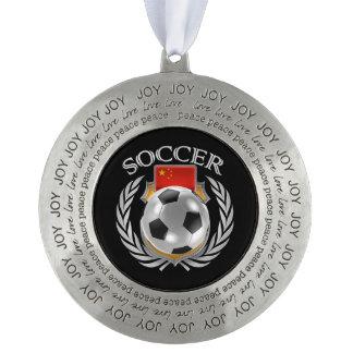 中国のサッカー2016ファンのギア オーナメント