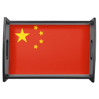 中国のトレイの旗 トレー