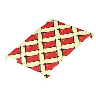中国のブラシの旗 iPad カバー