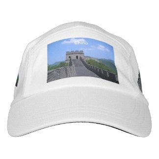 中国の万里の長城 ヘッドスウェットハット