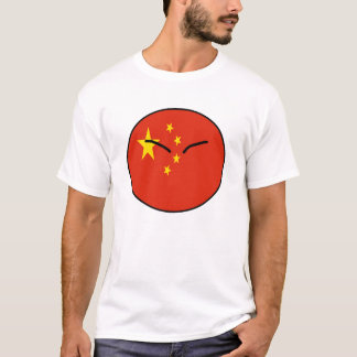 中国の国の球 Tシャツ