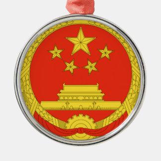 中国の国章 メタルオーナメント