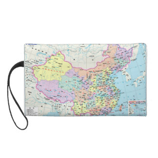中国の地図 リストレット