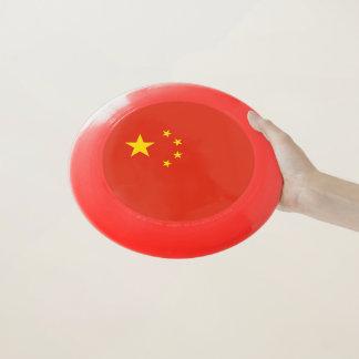 中国の旗が付いている愛国心が強いフリズビー Wham-Oフリスビー
