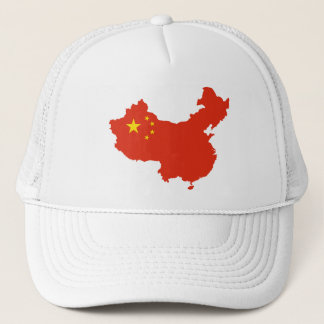 中国の旗地図CN キャップ