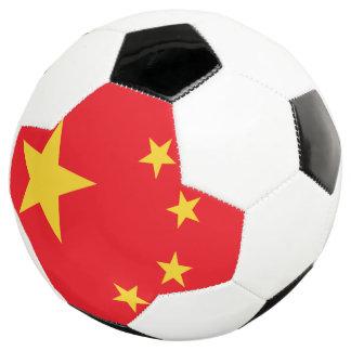 中国の旗 サッカーボール