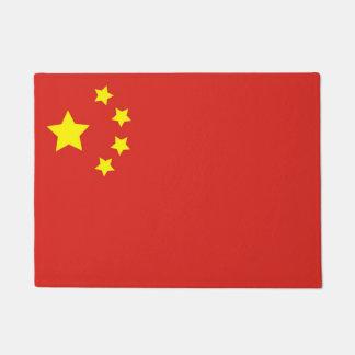中国の旗 ドアマット