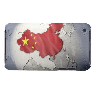 中国の旗 Case-Mate iPod TOUCH ケース