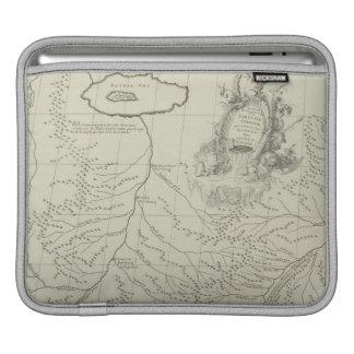 中国の旧式な地図 iPadスリーブ