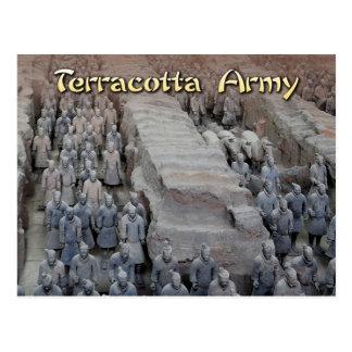 中国の最初の皇帝のテラコッタ軍隊 ポストカード