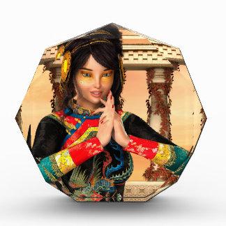 中国の王女 表彰盾