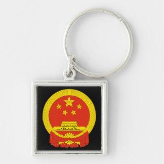 中国の紋章付き外衣 キーホルダー