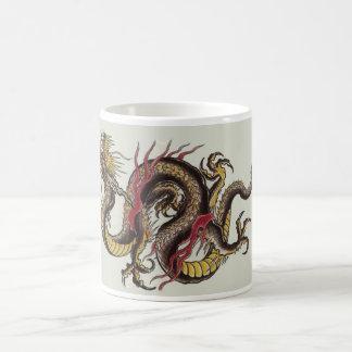 中国ドラゴン コーヒーマグカップ