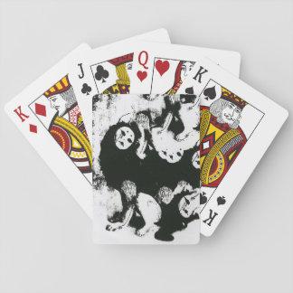 中国人のプリントのカジノカード トランプ
