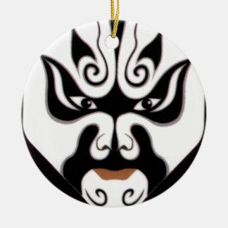 中国人の京劇の中国の日本日本人のマスク セラミックオーナメント