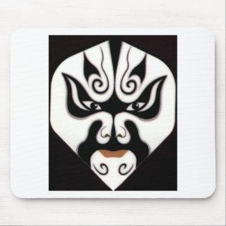 中国人の京劇の中国の日本日本人のマスク マウスパッド