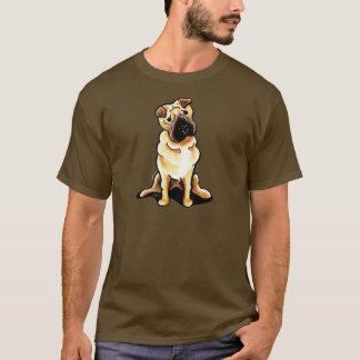 中国人のShar Peiの以外鎖Art™ Tシャツ
