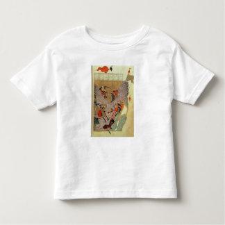 中国人を戦っているGenghis Khan (c.1162-1227) トドラーTシャツ