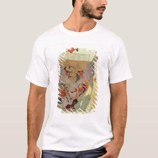 中国人を戦っているGenghis Khan (c.1162-1227) Tシャツ