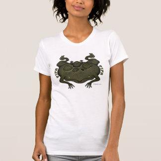 中国琵琶の中国琵琶(コモリガエル) Tシャツ