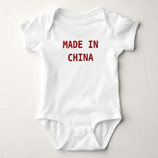 中国製 ベビーボディスーツ