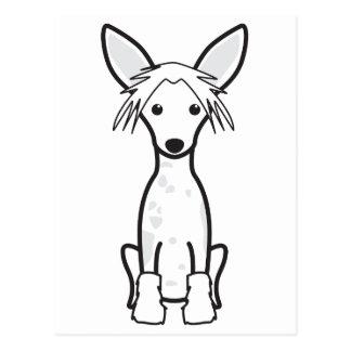 中国語によって頂点に達される犬の漫画 ポストカード