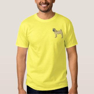 中国語Shar-pei 刺繍入りTシャツ