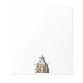 中国趣味の塔のメモ帳 ノートパッド