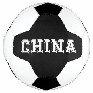 中国 サッカーボール