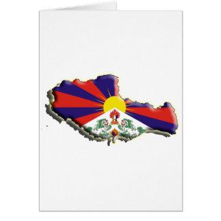 中国: チベット カード