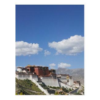 中国、チベット、ラサ、ポタラ宮 ポストカード