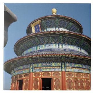 中国、北京、天壇の中国のな壷 タイル