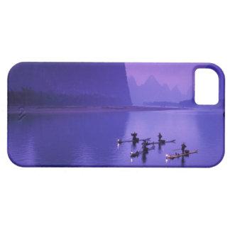 中国、李の川。 鵜の漁師 iPhone SE/5/5s ケース