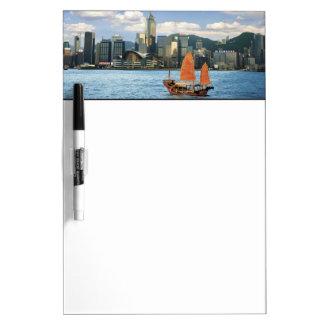 中国; 香港; ビクトリア港; 港; A ホワイトボード