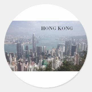 中国、香港(St.K) ラウンドシール