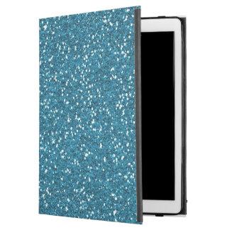 """中型の青く模造のなグリッターのiPadのプロ場合 iPad Pro 12.9"""" ケース"""