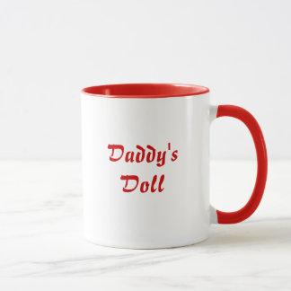 """中型の""""お父さんの人形""""のマグ マグカップ"""