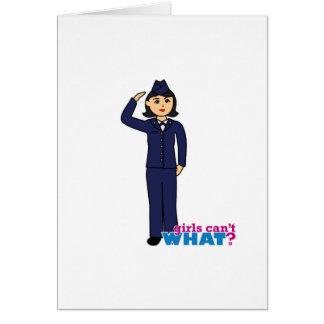 中型空軍服青 カード