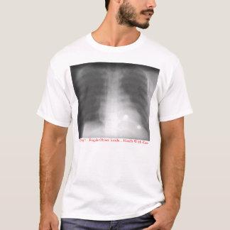 中壊れやすい目的 Tシャツ