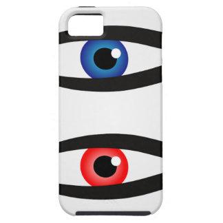 中大きい眼球を持つ抽象的な魚 iPhone SE/5/5s ケース