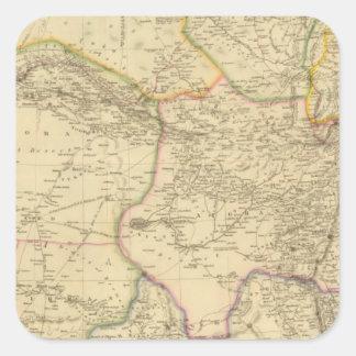 中央アジア スクエアシール