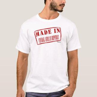 中央アフリカで作られる Tシャツ