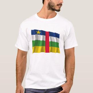 中央アフリカの振る旗 Tシャツ