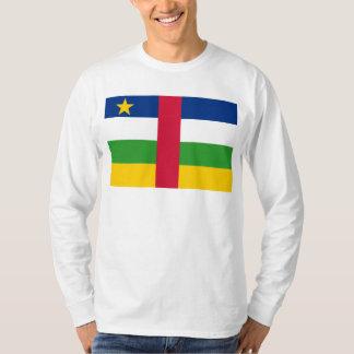 中央アフリカの旗のCF Tシャツ