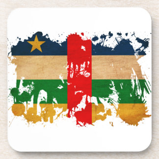 中央アフリカの旗 コースター