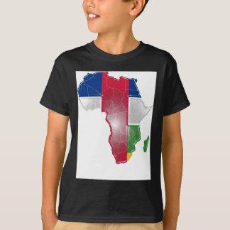 中央アフリカ人Rep Tシャツ