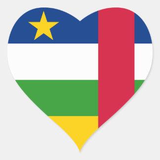 中央アフリカ ハートシール