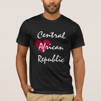 中央アフリカ Tシャツ